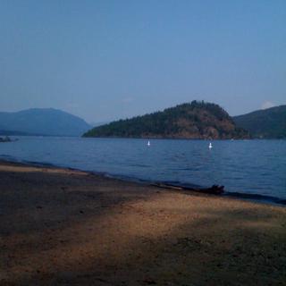 Shushwap Lake, July 11 2009